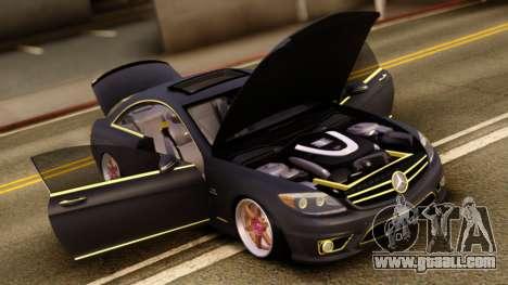 Mercedes-Benz CL65 AMG for GTA San Andreas