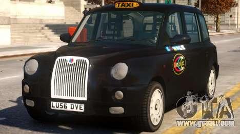 London Taxi Cab for GTA 4