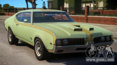 1969 Oldsmobile Cutlass Hurst 442 for GTA 4