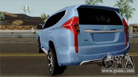 Mitsubishi Pajero Sport Rockford Fosgate 2016 for GTA San Andreas back left view
