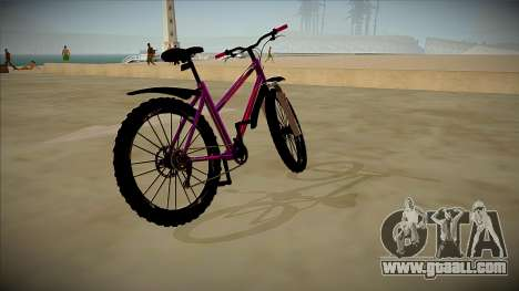 A Bicycle Stern for GTA San Andreas