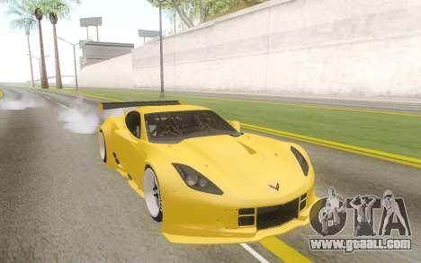 Chevrolet Corvette Z06 for GTA San Andreas