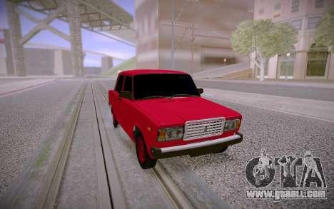 2107 Drain for GTA San Andreas
