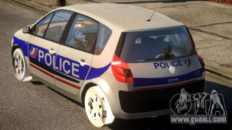 Renault Scenic II Police for GTA 4