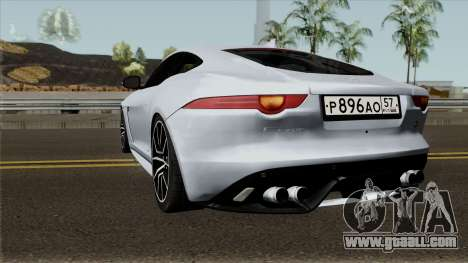 Jaguar F-Type SVR for GTA San Andreas