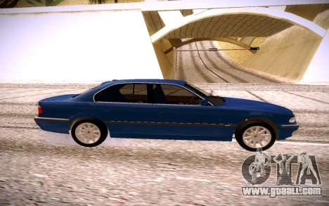 BMW M5 E38 for GTA San Andreas