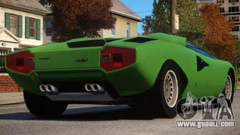 1974 Lamborghini Countach for GTA 4
