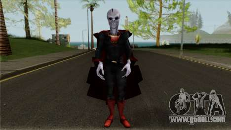 Grey Alien Superman for GTA San Andreas