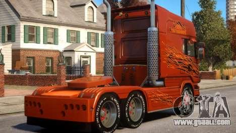 Scania R580 Longline Custom PJ12 for GTA 4