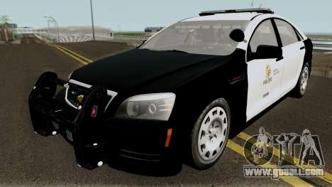 Chevrolet Caprice LAPD 2013 for GTA San Andreas
