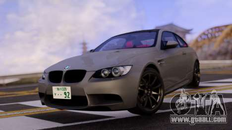 BMW E92 for GTA San Andreas