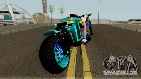 Far Concept Hyperbike Engine Ford v8 for GTA San Andreas right view