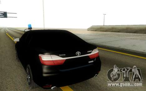 Toyota Camry service for GTA San Andreas