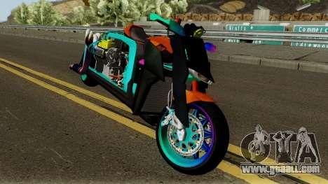 Far Concept Hyperbike Engine Ford v8 for GTA San Andreas inner view