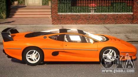 Jaguar XJ220 for GTA 4