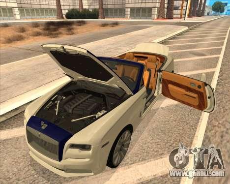 Rolls-Royce Dawn for GTA San Andreas