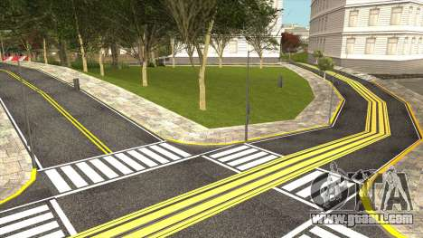 New San Fierro Roads and New Tram Station for GTA San Andreas forth screenshot