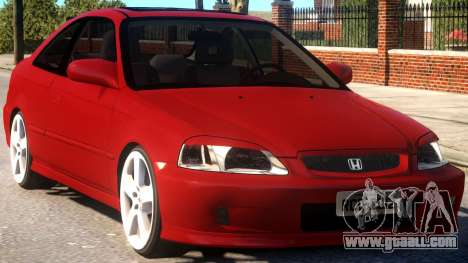 Honda Civic Coupe for GTA 4