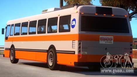 GTA V Style Bus for GTA 4
