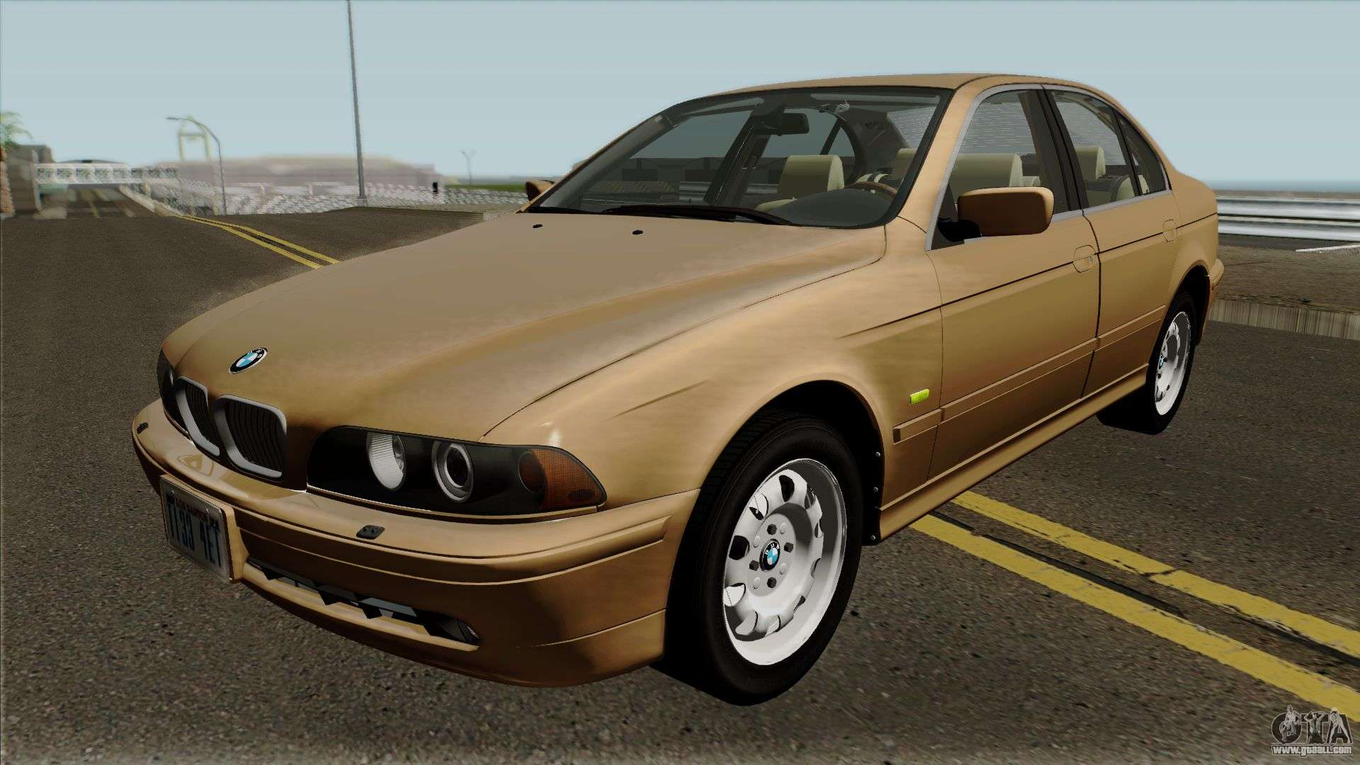 Bmw 5 Series E39 525i 2001 Us Spec For Gta San Andreas
