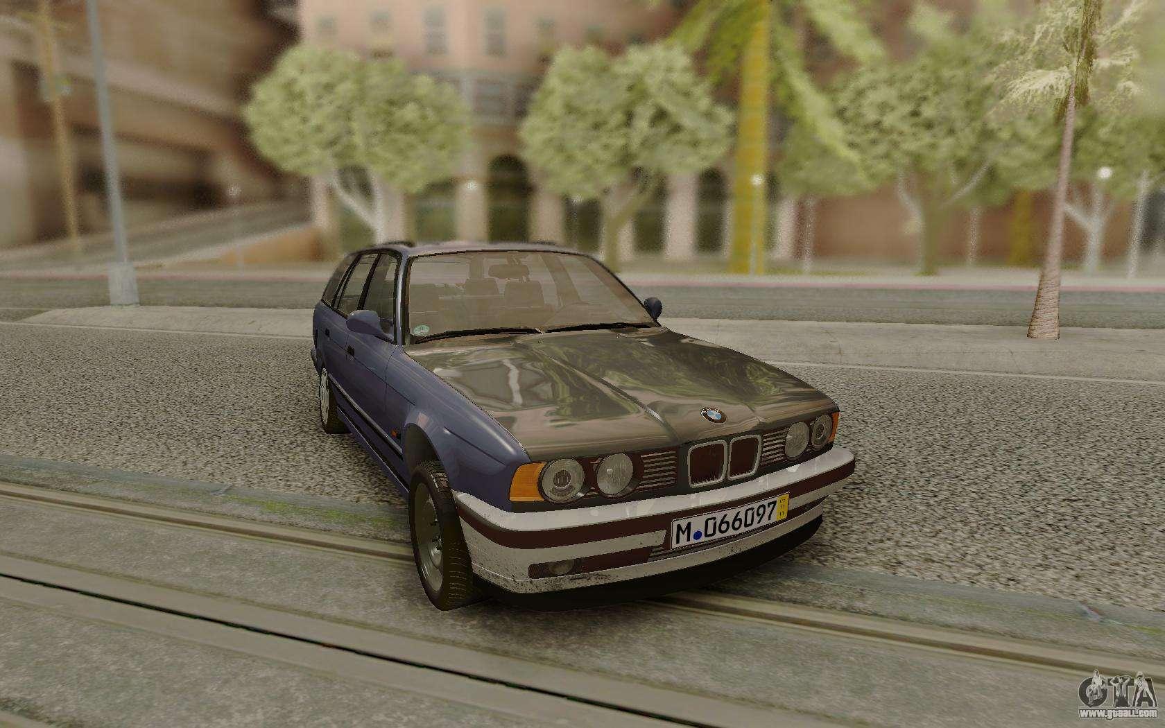 Bmw E34 Wagon For Gta San Andreas