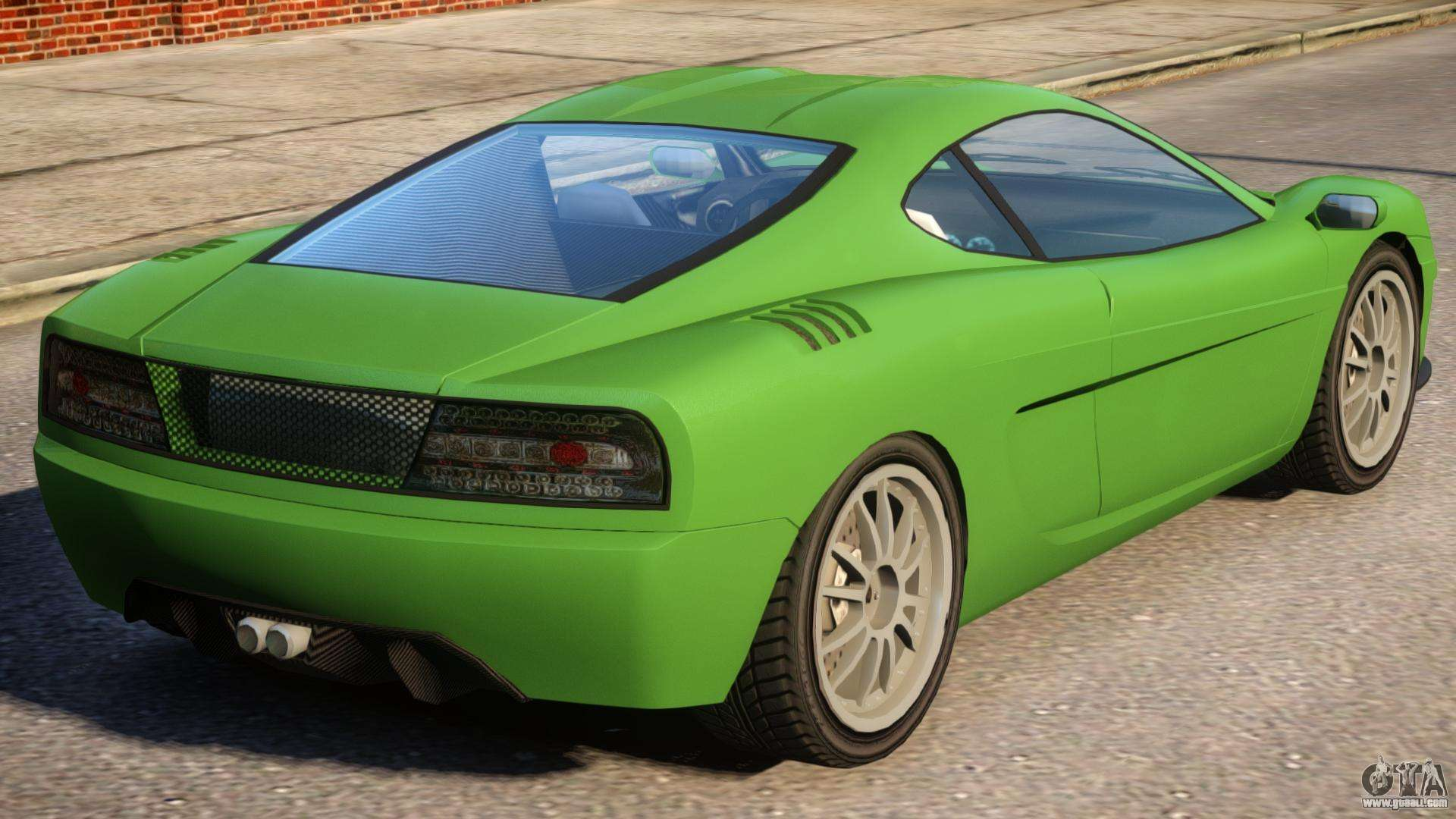 Modified Turismo for GTA 4