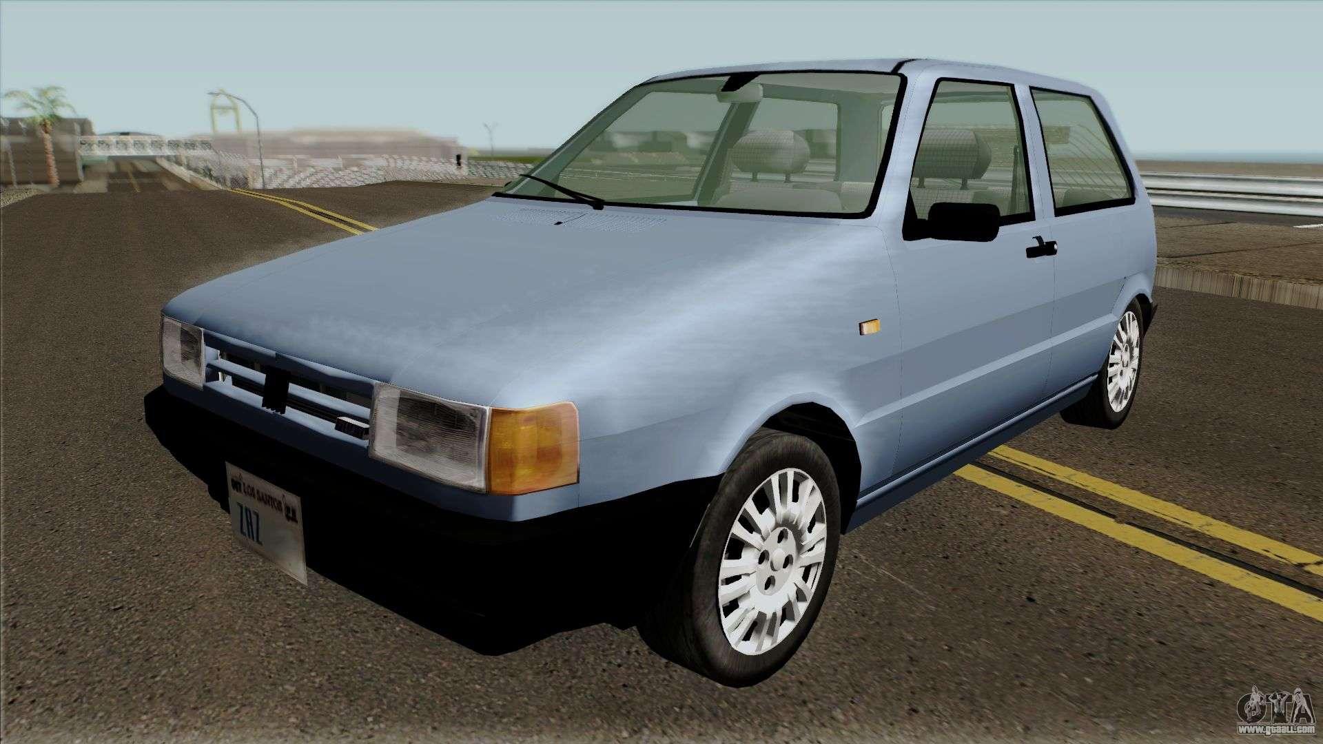 Fiat Uno Mille 1995 For GTA San Andreas