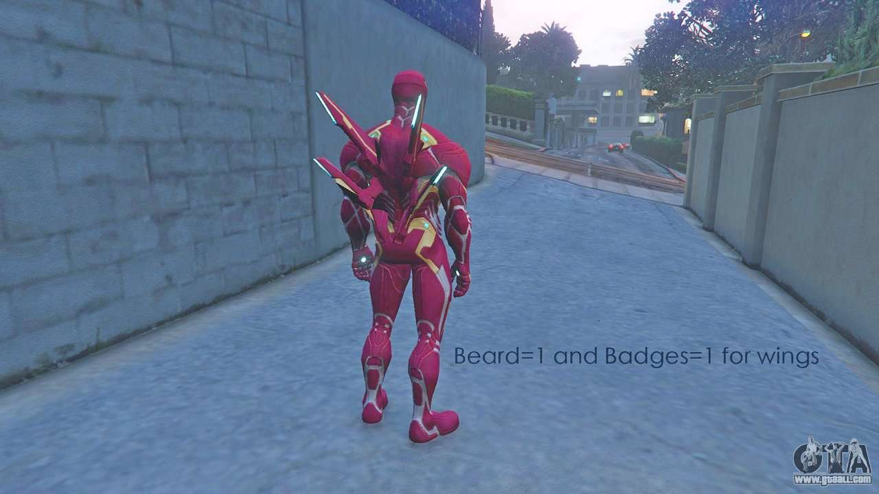 Iron Man MK50 MCOC Version for GTA 5