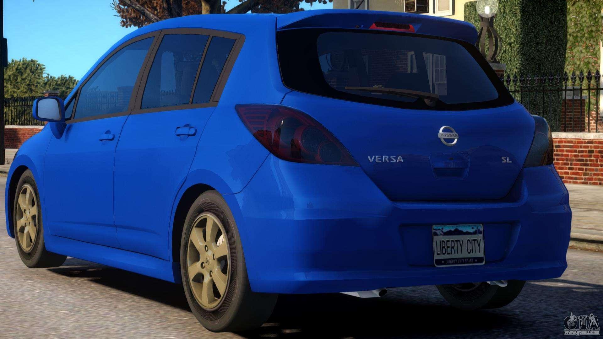 Nissan Versa Sl V2 For Gta 4