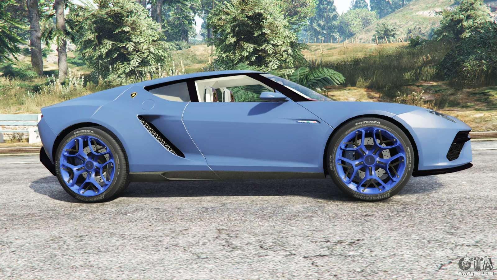 Lamborghini Asterion Lpi 910 4 V1 1 Replace For Gta 5
