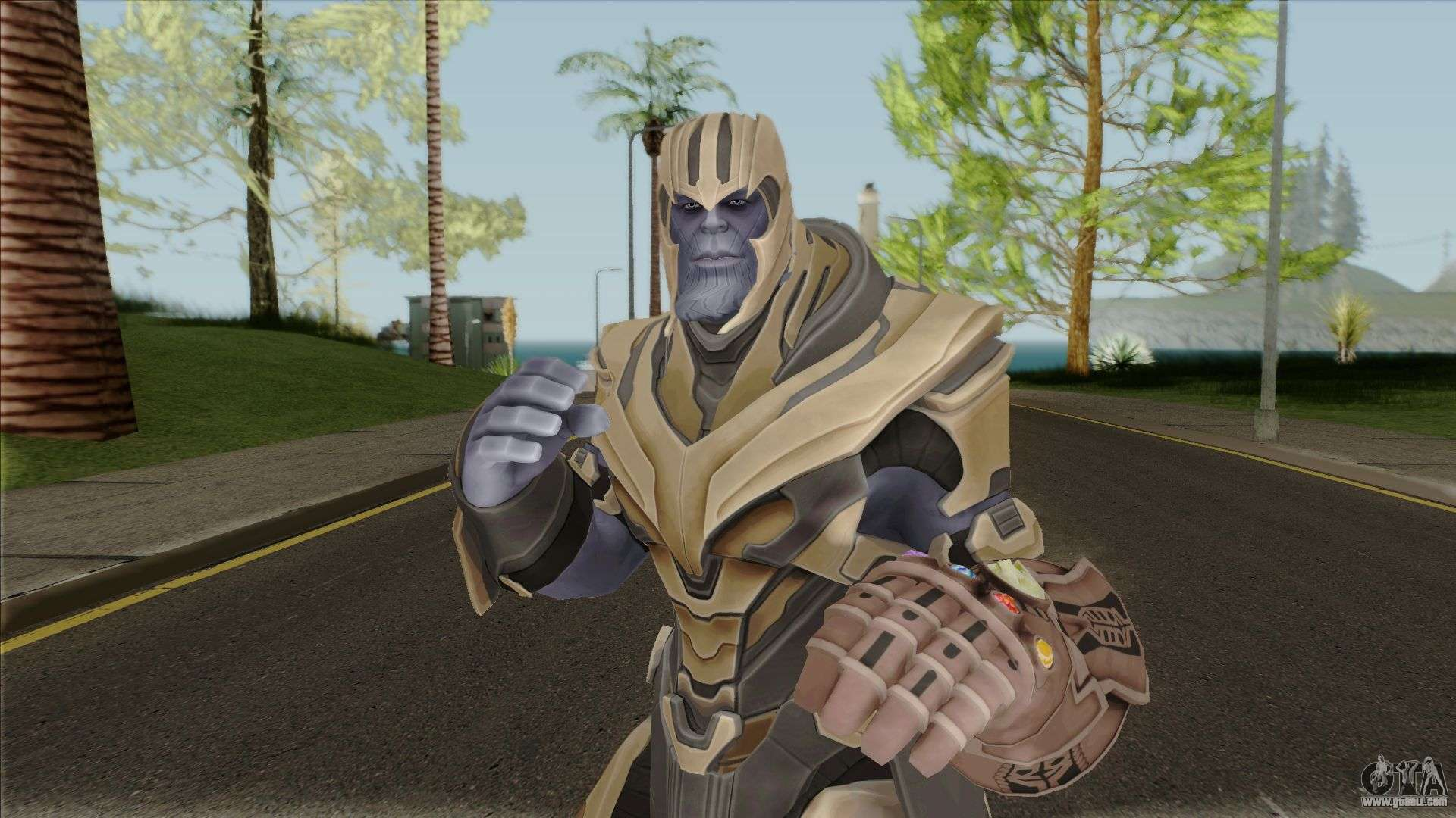 Thanos From Fortnite for GTA San Andreas