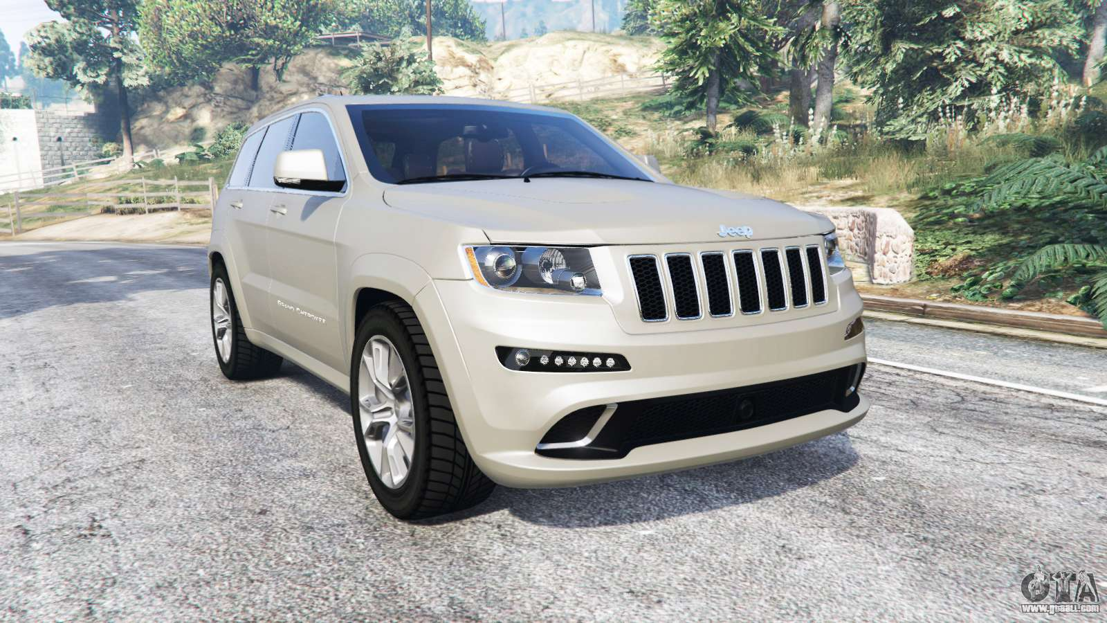 jeep grand cherokee srt8 wk2 2013 replace for gta 5. Black Bedroom Furniture Sets. Home Design Ideas