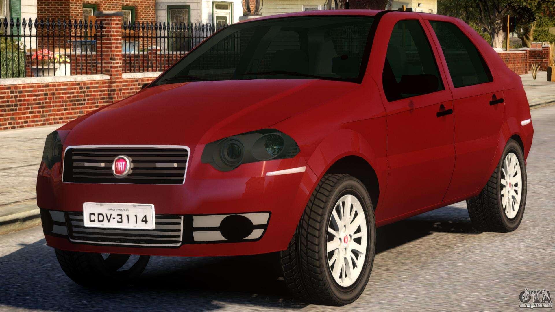 2011 Fiat Siena For Gta 4