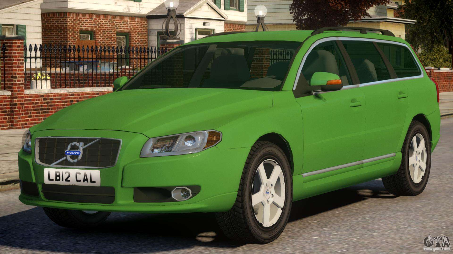 Volvo V70 Civilian Version for GTA 4