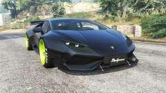 Lamborghini Huracan LibertyWalk v1.2 [replace] for GTA 5
