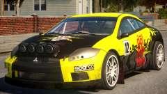 Mitsubishi Eclipse GT Drift for GTA 4