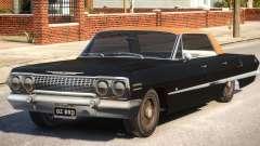1963 Chevrolet Impala (4 Doors) for GTA 4