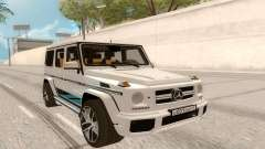 Mercedes-Benz G63 AMG Rus Plate for GTA San Andreas