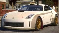 Nissan 350Z Rally Car P2 for GTA 4