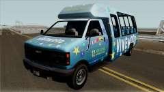 Brute Tour Bus GTA V for GTA San Andreas