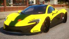 2014 McLaren P1 Harrods GTR