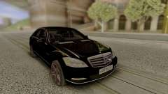 Mercedes-Benz W221 Stock for GTA San Andreas
