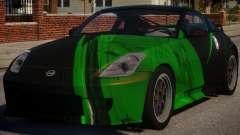 Nissan 350Z Underground PJ4 for GTA 4