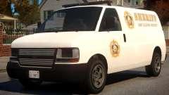 Los Santos Police Speedo Transporter [ELS] for GTA 4