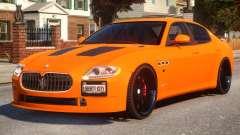 Maserati Quattroporte Sport GTS Tuned for GTA 4