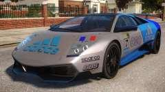 Lamborghini GT3 CUP Addidas Team for GTA 4