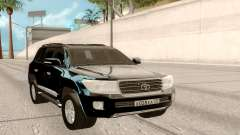 Toyota Land Cruiser 200 DARK for GTA San Andreas