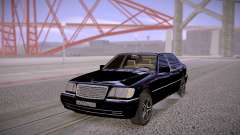 Mercedes-Benz S600 W140 Stock for GTA San Andreas