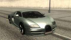 Bugatti Veyron Stock for GTA San Andreas