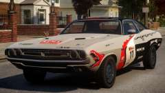 Dodge Challenger 1971 PJ9 for GTA 4
